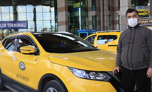 Otobüs seferleri azaldı, taksiciler şehirler arası seyahat başlattı
