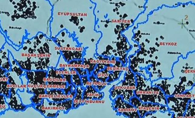 İşte İstanbul'da en yoğun koronavirüs vakası görülen 3 ilçe!
