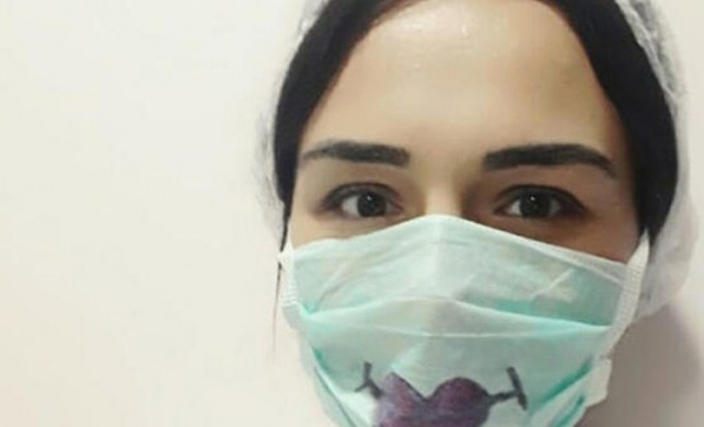 Zonguldak'ta koronavirüsü yenen Özge hemşire, neler yaşadığını anlattı!