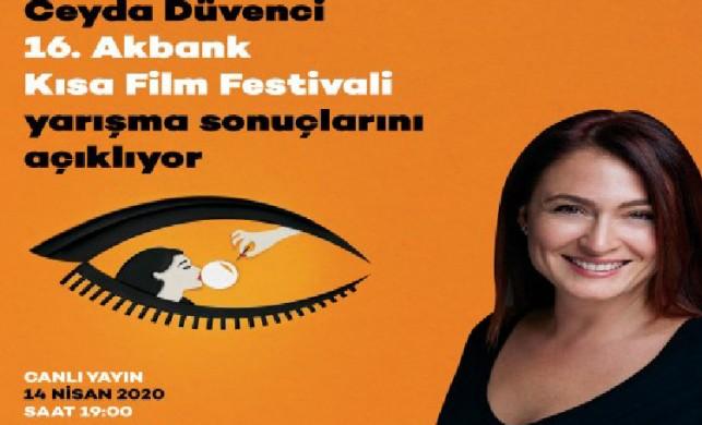 16. Akbank Kısa Film Festivali, sinemaseverlere online ödül töreni müjdesi verdi!