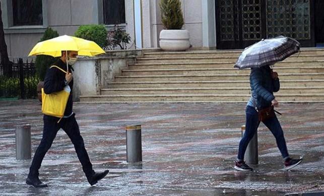 Meteoroloji'den İstanbul için son dakika yağış uyarısı geldi