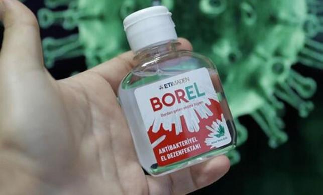 Yerli ve milli dezenfektan BOREL'in litrelik boyları da raflarda yerini aldı!