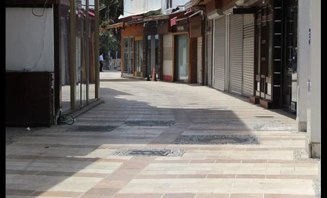 Bodrum'da yasağa uyuldu, sokaklar boş kaldı