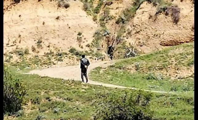 Erbaa'da karantinadan firar edenler böyle görüntülendi