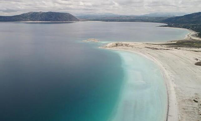 Salda Gölü eski görüntüsüne kavuştu