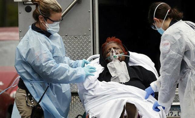 Amerika'da koronavirüsten dolayı 1203 ölüm daha gerçekleşti