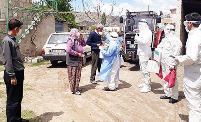 Kayseri'de 'üfürükçüden virüs kapan köy' haberinde gerçek bambaşka çıktı