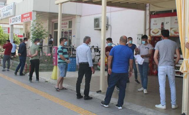 Mermer ocağı işçisi intihar etti! 120 kişi karantinaya alındı!