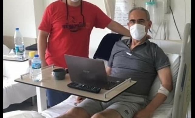 Termal suya düşen profesörün bacaklarında ikinci derece yanık oluştu