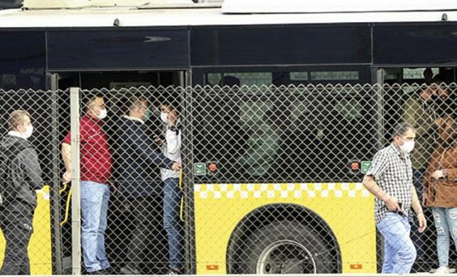 Toplu taşımada sosyal mesafe kuralına uyulmadı! Cezalar art arda geldi!