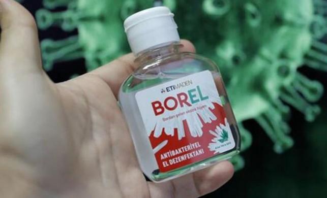 Yerli ve milli el dezenfektanı BOREL'in satışı 4 milyon şişeye yaklaştı!