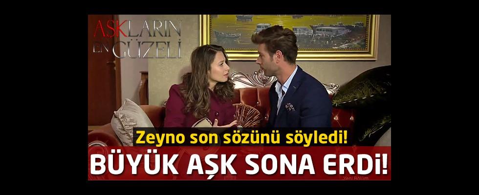 Büyük aşk sona erdi! Zeyno, Fırat'a son sözünü söyledi!