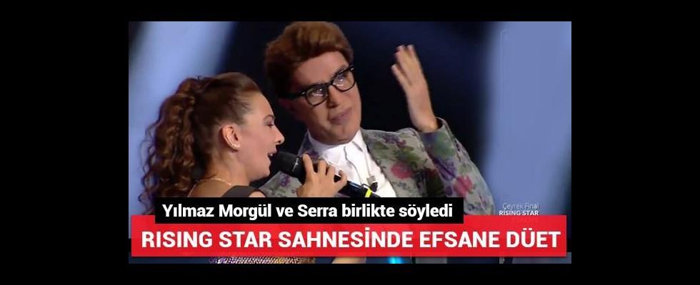Yılmaz Morgül ve Serra'dan efsane düet!
