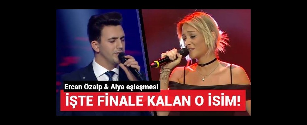Ercan Özalp ve Alya eşleşmesi (Yarı Final)
