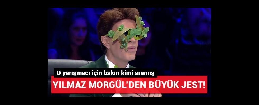 Yılmaz Morgül'den o yarışmacıya büyük jest