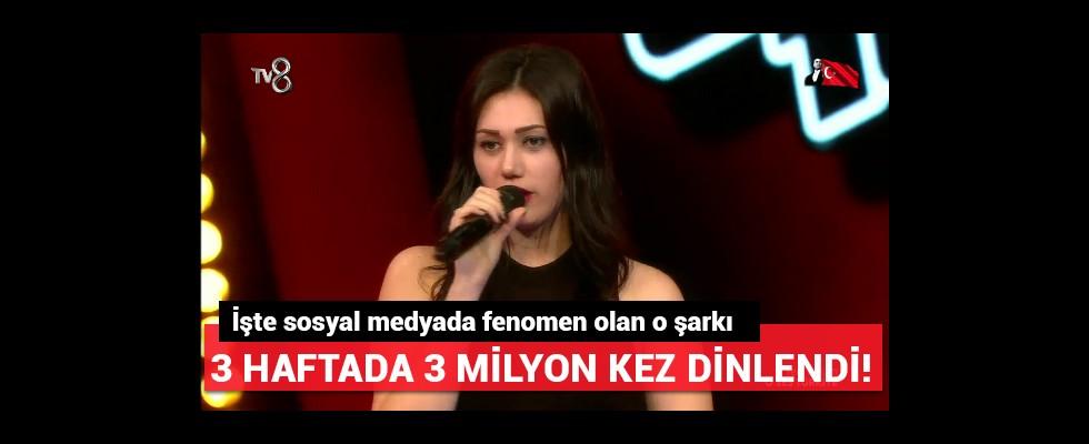 Sosyal medyada hit olan şarkısıyla O Ses Türkiye sahnesinde..