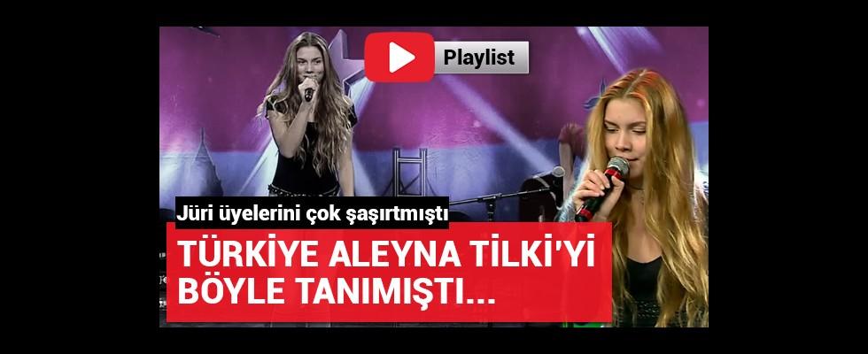 Türkiye Aleyna Tilki'yi ilk böyle tanımıştı!