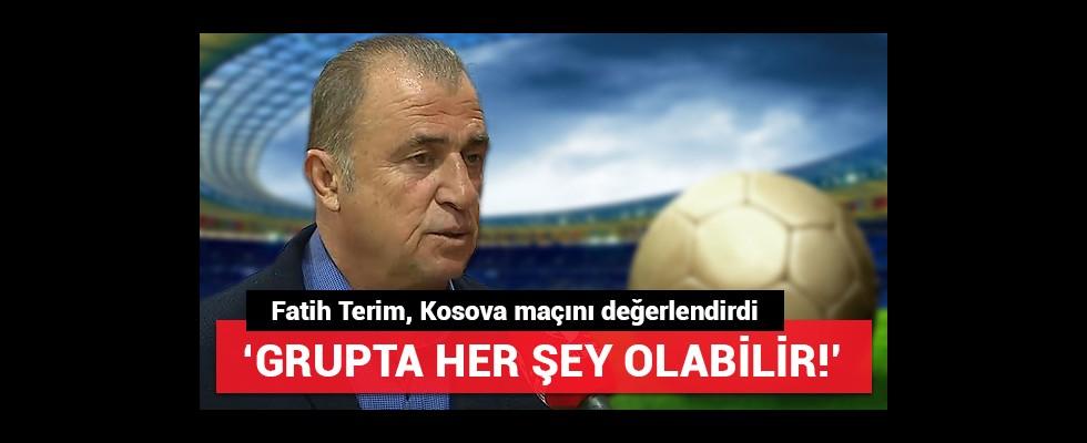 Fatih Terim, Kosova maçını değerlendirdi!