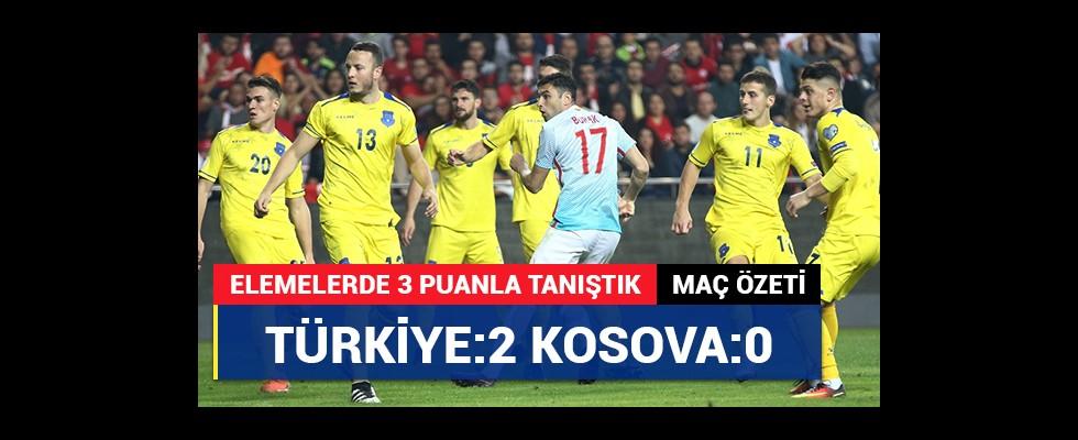 Türkiye:2 - Kosova:0 | Maç özeti