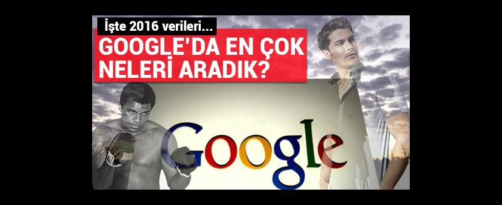 Google'da en çok onları aradık...
