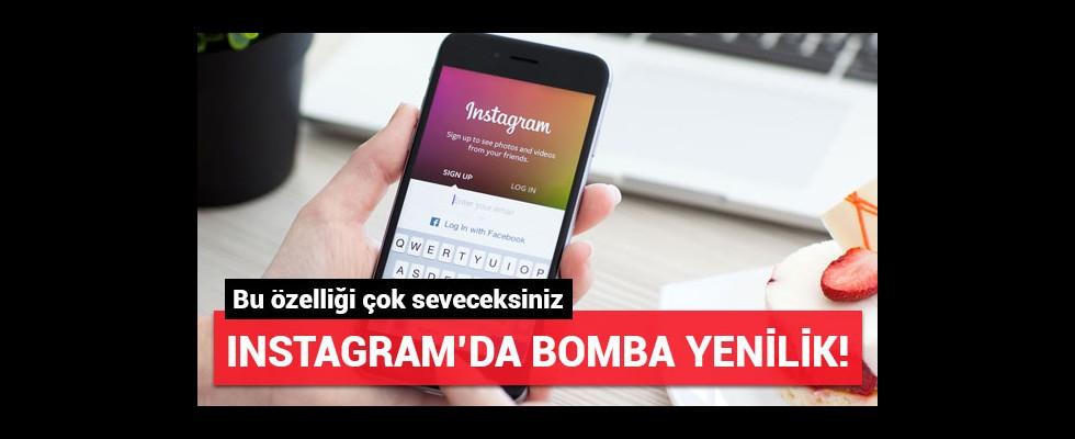 Instagram'da bomba yenilik! Bu özelliği çok seveceksiniz...