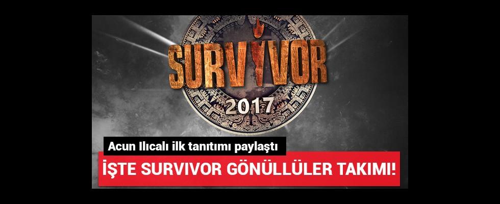 Acun Ilıcalı paylaştı; İşte Survivor gönüllüler takımı tanıtımı!