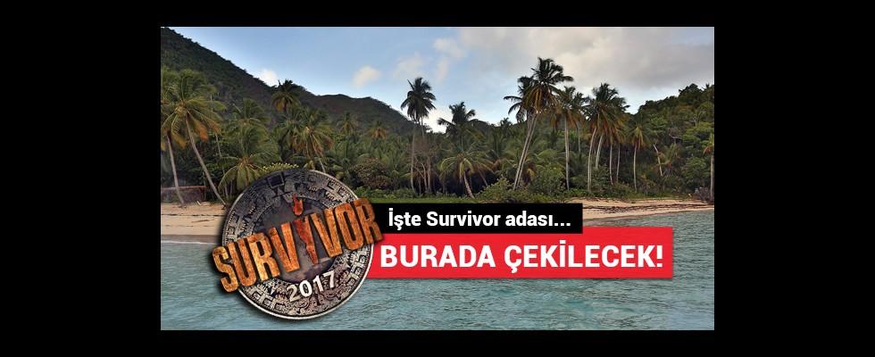 Survivor 2017 burada çekilecek! Heyecan başlıyor...
