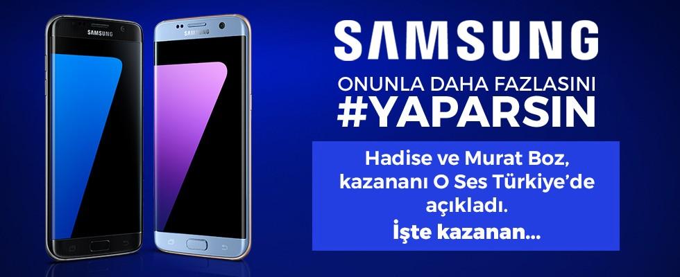 İşte Samsung #YAPARSIN kazananı...