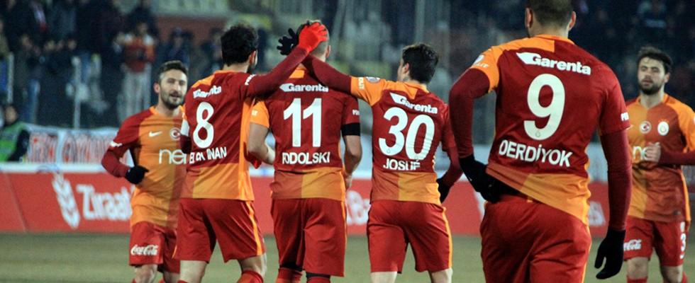 Elazığ'da 5 gol, 1 penaltı