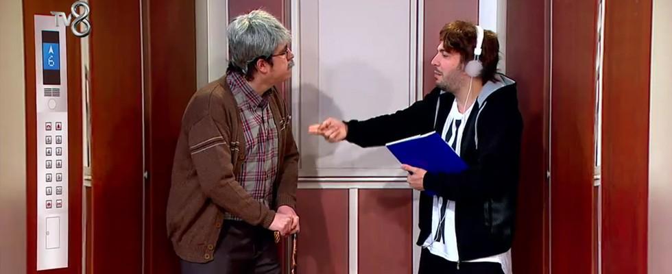 Oğuzhan ve İbo asansörde kalırsa!