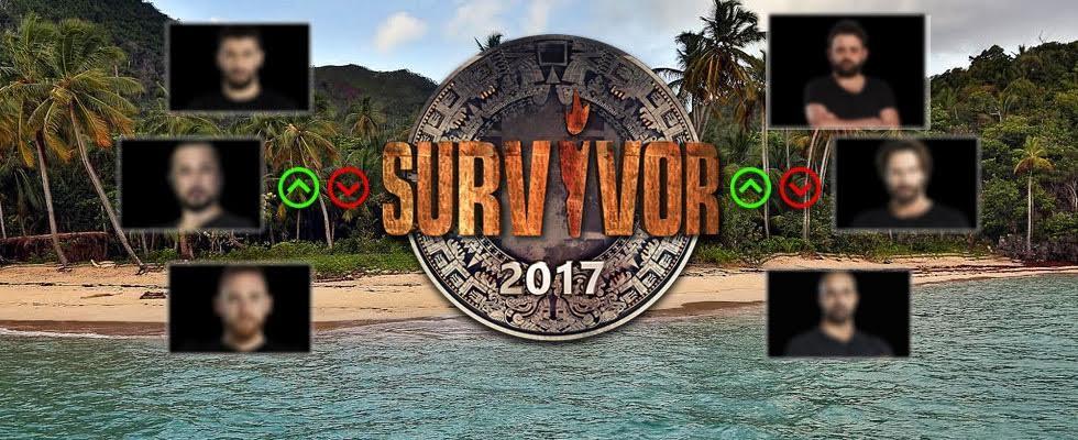 Survivor 2017 Erkekler Puan Durumu
