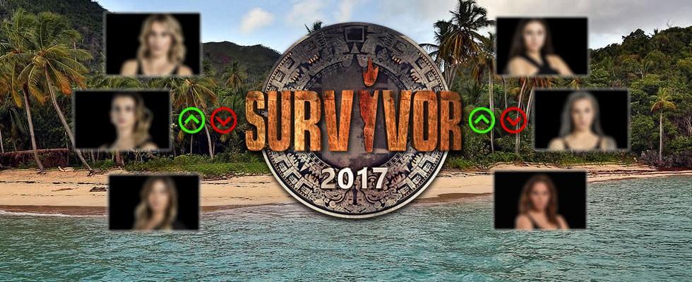 Survivor 2017 Kızlar Puan Durumu