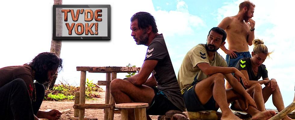 Ünlüler adasında gruplaşma tartışması!