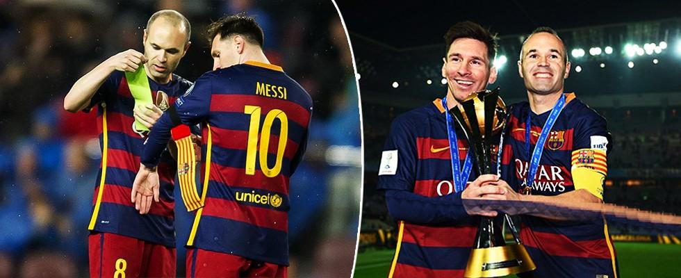 Barcelona'dan Messi ve Iniesta açıklaması!