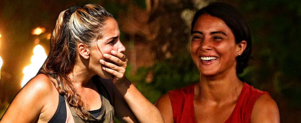 Survivor'a damga vuran Berna-Sabriye rekabeti!