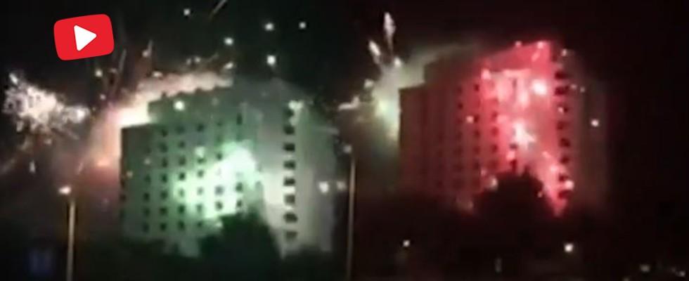 Futbolcuların kaldığı otele gece 04:00'te böyle saldırdılar!