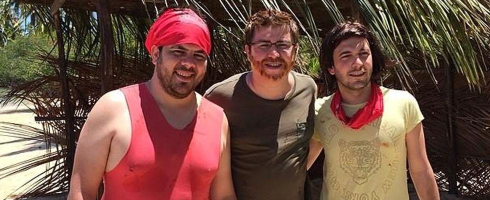 3 Adam'ın olay yaratan Survivor macerası!