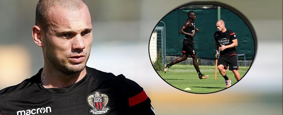 Fransa'da Sneijder şoku!