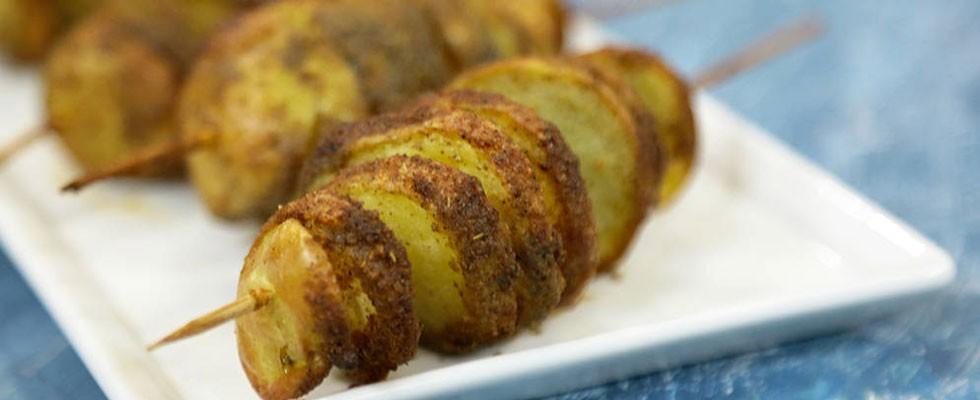 Şişte Fırın Patates