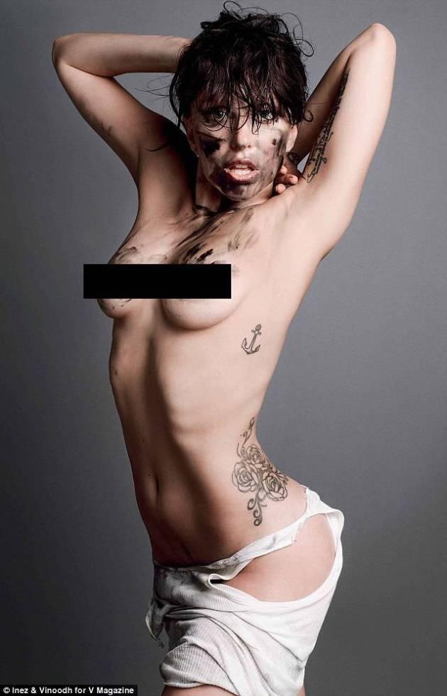 леди гага голая фото
