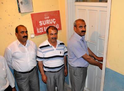 CHP Suruç İlçe Başkanı İstifa Etti