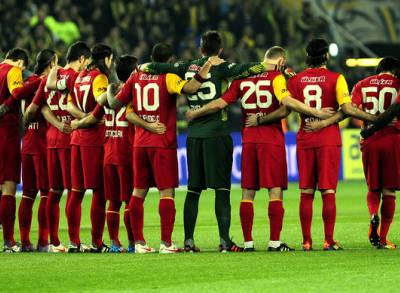 Derbide Galatasaray Cephesi