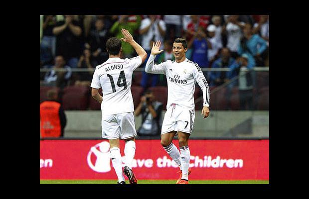 Ronaldo'ya soğuk duş