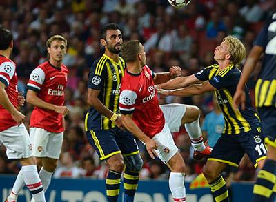 Arsenal - Fenerbahçe Maç Özeti
