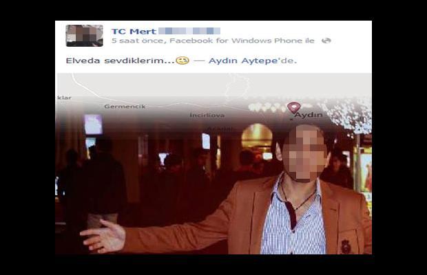 Facebook'tan vedalaşıp uçurumdan atladı!