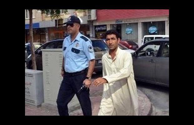 Polisi bile şaşırtan Suriyeli dilenci!
