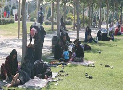 Konak Meydanı'nda Suriyeli!