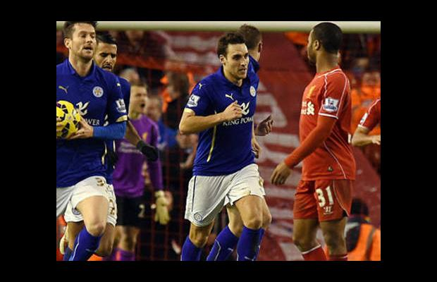Liverpool'a Leicester City darbesi