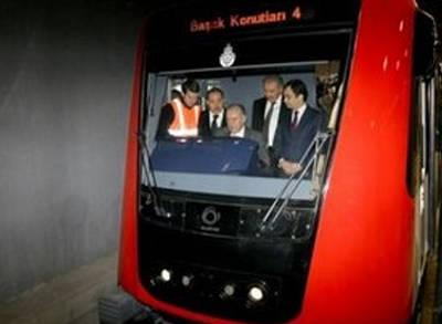 İstanbul'un Yeni Metro Hattı Açıldı