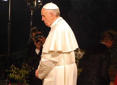 İlk Kez ''Via Crucis''i Yönetti